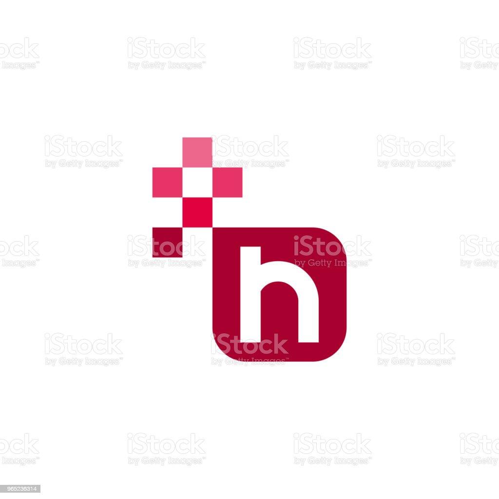 H Font Vector Template Design h font vector template design - stockowe grafiki wektorowe i więcej obrazów abstrakcja royalty-free