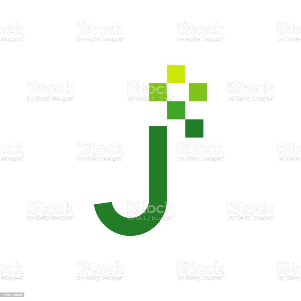 J Font Vector Template Design j font vector template design - stockowe grafiki wektorowe i więcej obrazów abstrakcja royalty-free
