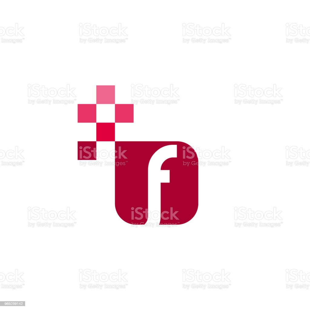 F Font Vector Template Design f font vector template design - stockowe grafiki wektorowe i więcej obrazów abstrakcja royalty-free