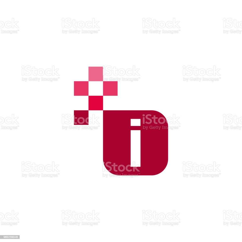 I Font Vector Template Design i font vector template design - stockowe grafiki wektorowe i więcej obrazów abstrakcja royalty-free