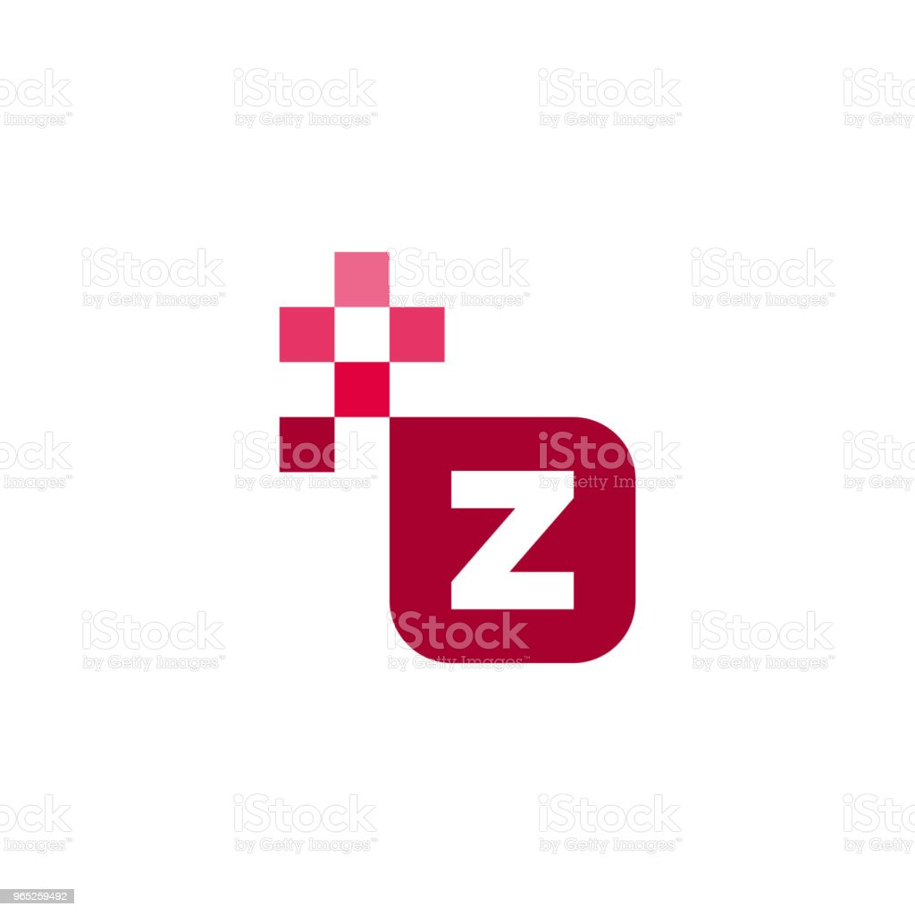 Z Font Vector Template Design royalty-free z font vector template design stock vector art & more images of abstract