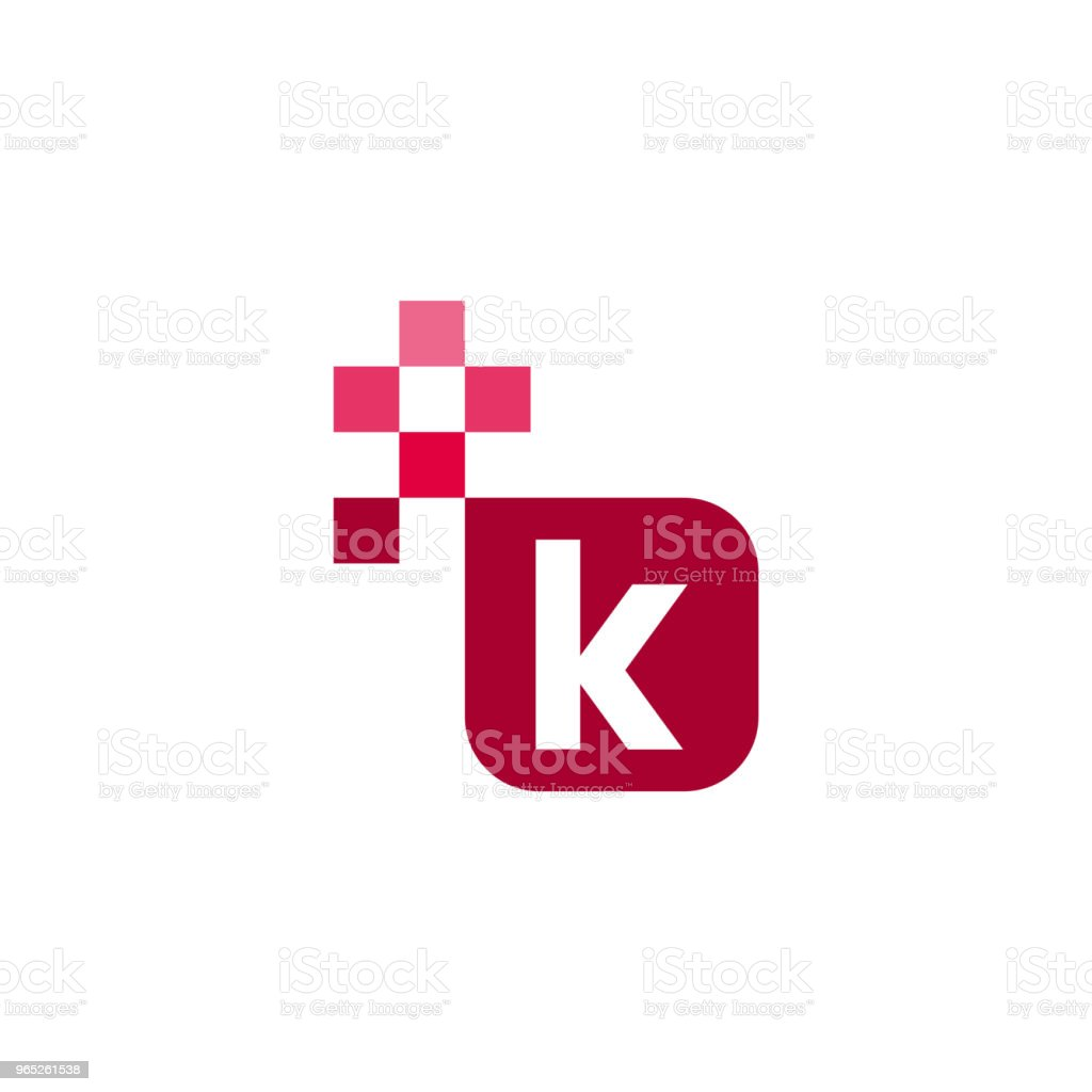 K Font Vector Template Design royalty-free k font vector template design stock vector art & more images of abstract