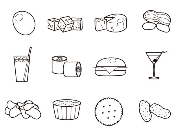 Top 60 Cheese And Crackers Clip Art, Vector Graphics And