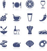 Food and beverage icon collection