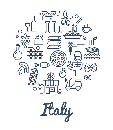 Food and culture of Italy.