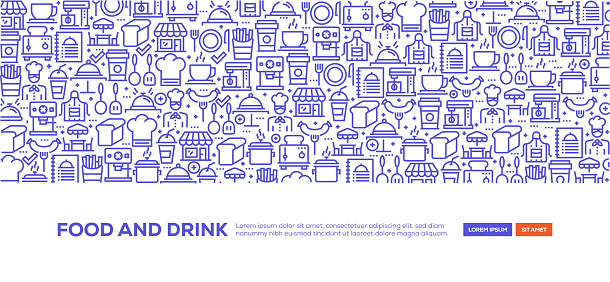 Food and Drink Banner