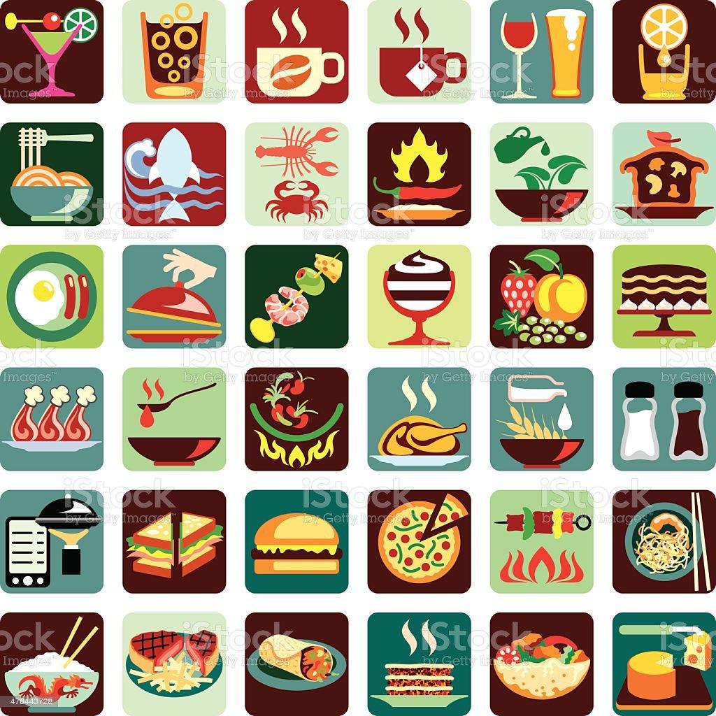drink icons food istock illustration
