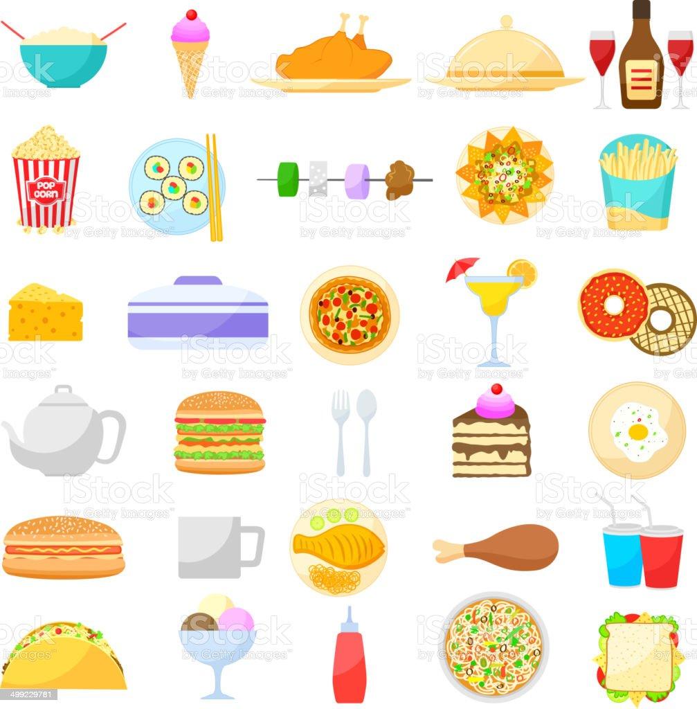 Food and Drink item vector art illustration