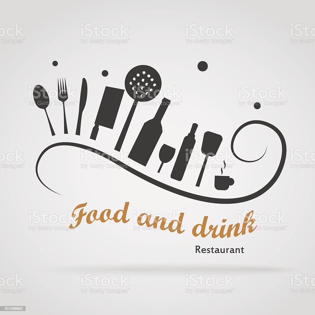Food and drink Restaurant vector art illustration