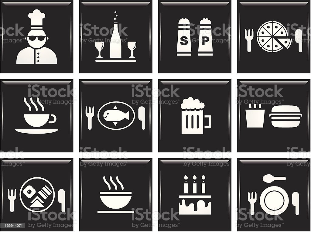 Food and Drink royalty-free stock vector art