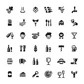Food and Drink vector symbols and icons