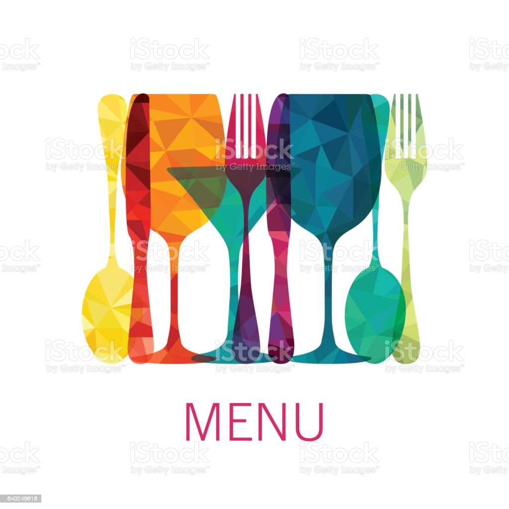 Food and drinks. Menu. Vector illustration ベクターアートイラスト
