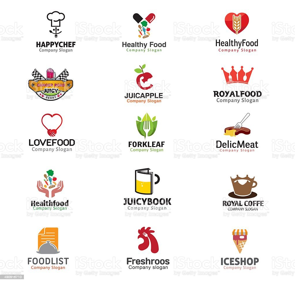 Food And Drinks Symbol vector art illustration