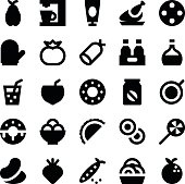 Food and Drinks Vector Icons 7