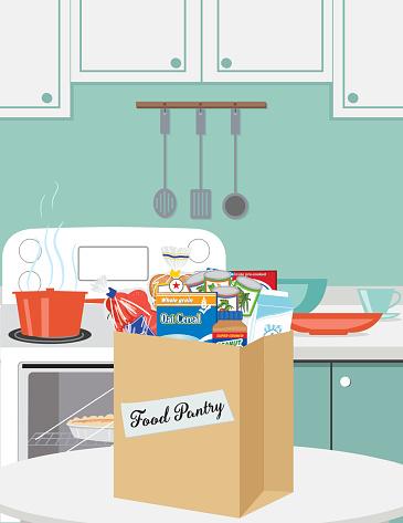 Food Bank Donation Concept