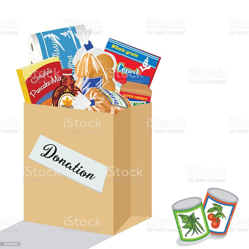 royalty free food pantry clip art vector images illustrations rh istockphoto com images food bank clipart Food Clip Art