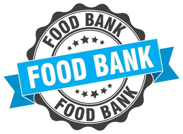 food bank stamp. sign. seal food bank stamp. sign. seal food bank stock illustrations