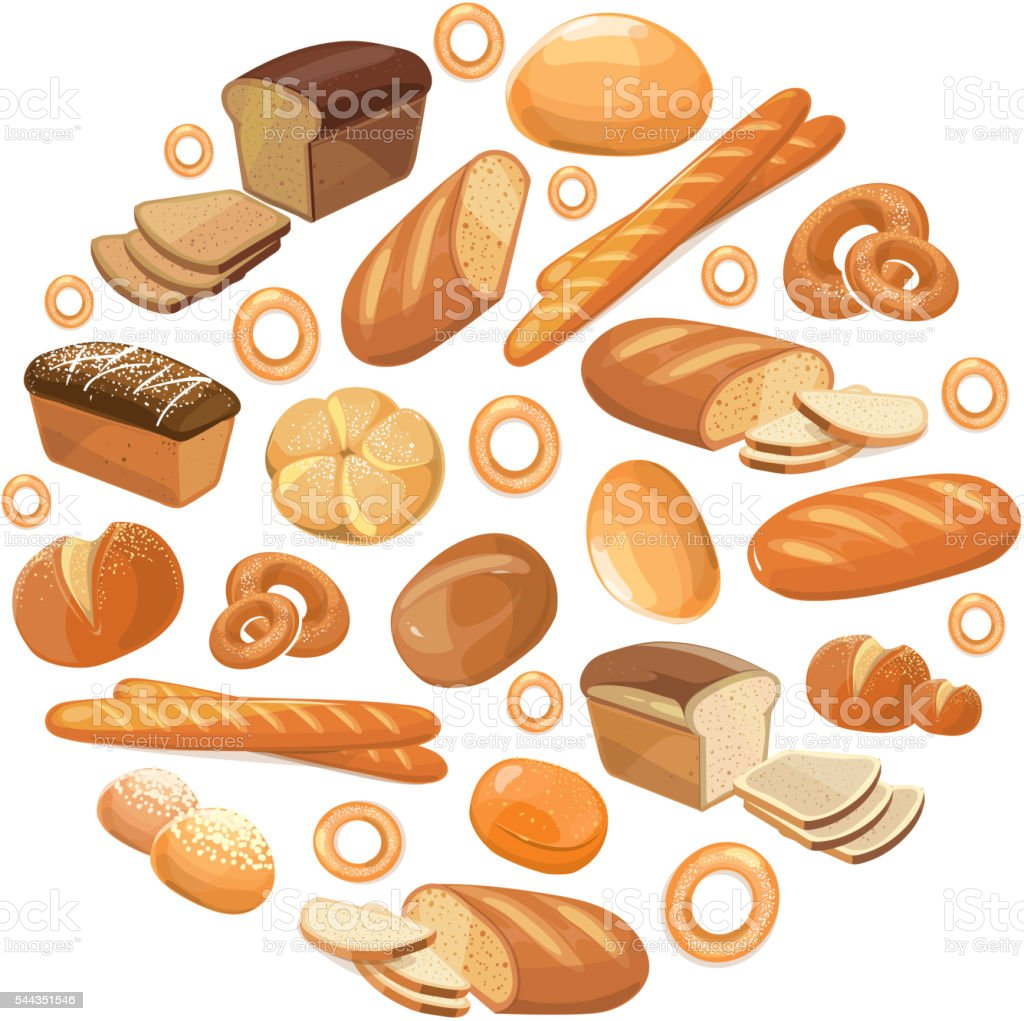 food bread rye wheat whole grain bagel sliced french baguette stock rh istockphoto com Hunger Clip Art Hunger and Thirst Clip Art
