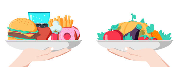 Royalty Free Fasting Diet Clip Art, Vector Images ...