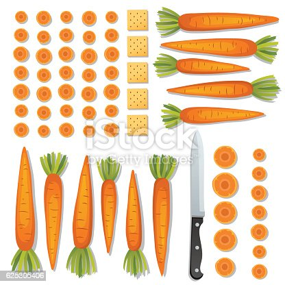 istock Food Cooking Flat Lay On A Bright Background 625305406