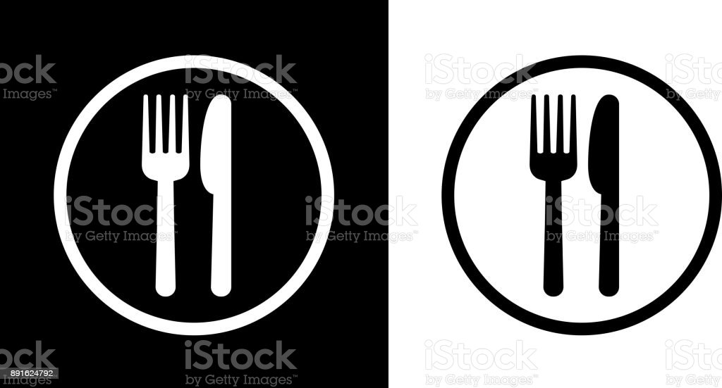 Food Court Sign. royalty-free food court sign stock vector art & more images of black and white