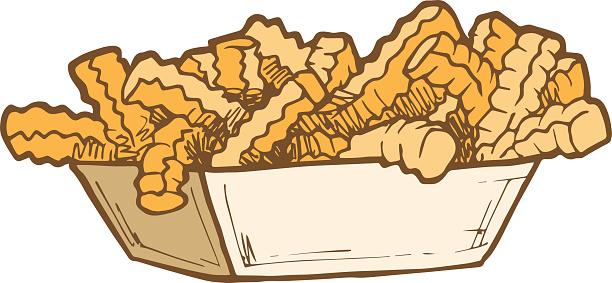Food - Crinkle Cut Fries