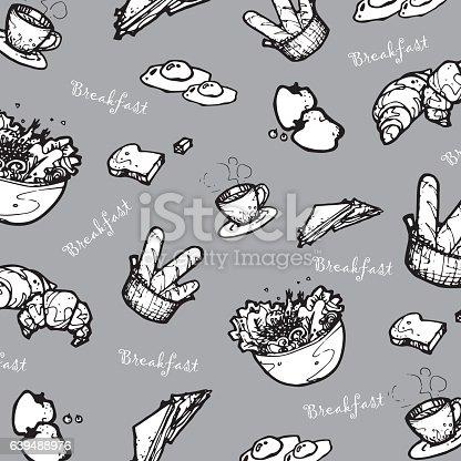 food cute cartoon vector
