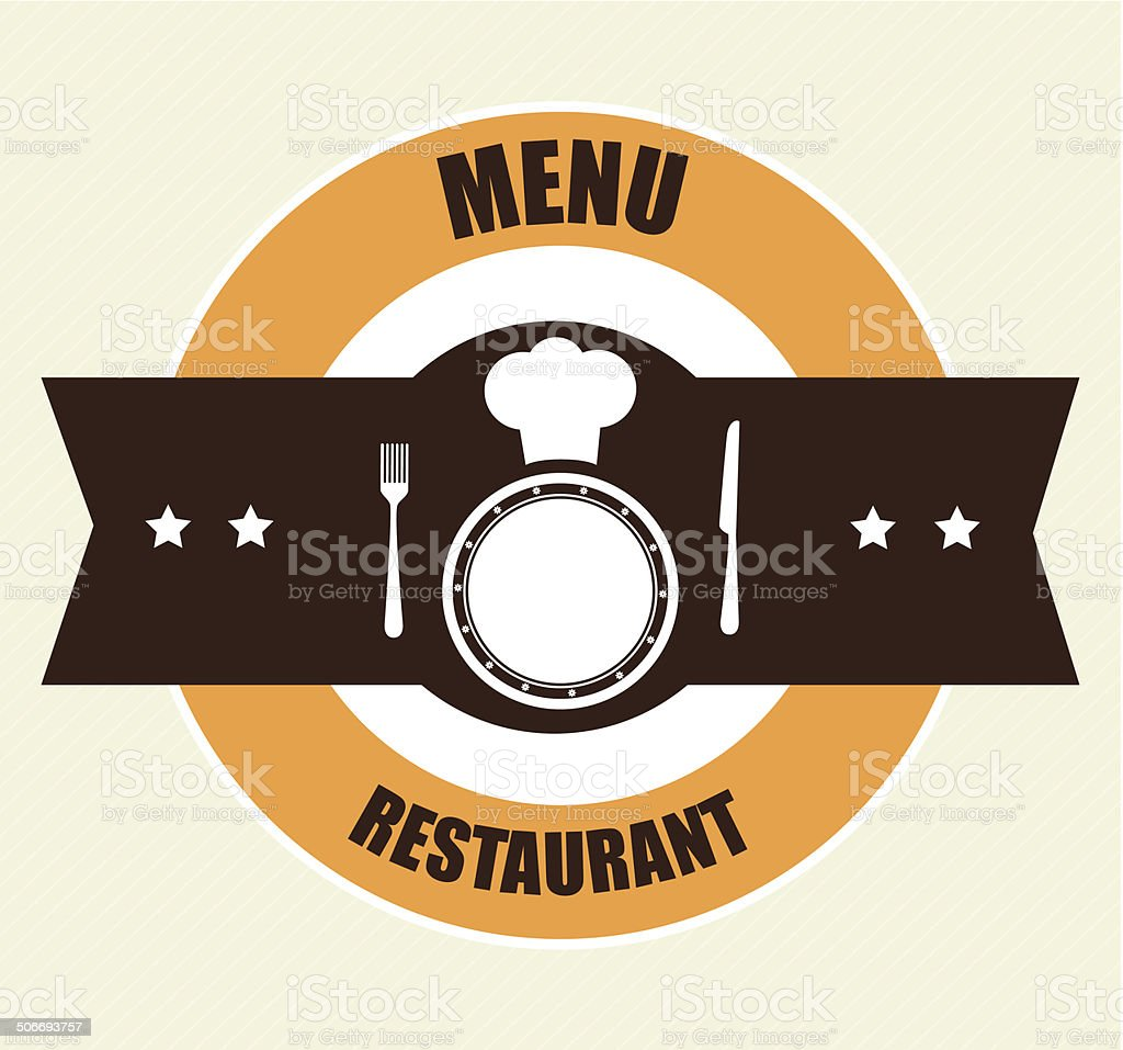 Food design royalty-free stock vector art