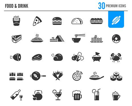 Food & Drinks Icons // Premium Series