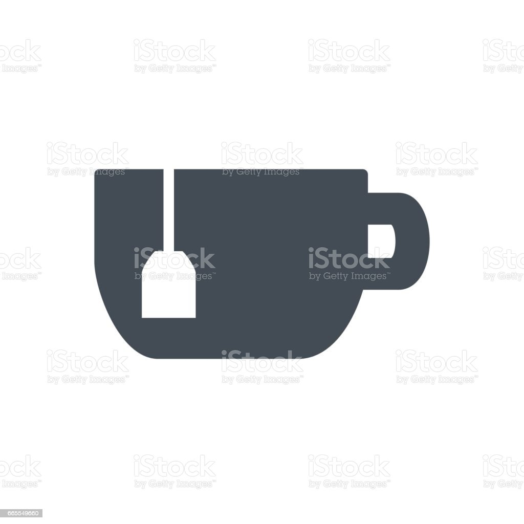 food drinks silhouette icon tea cup stock vector art more images