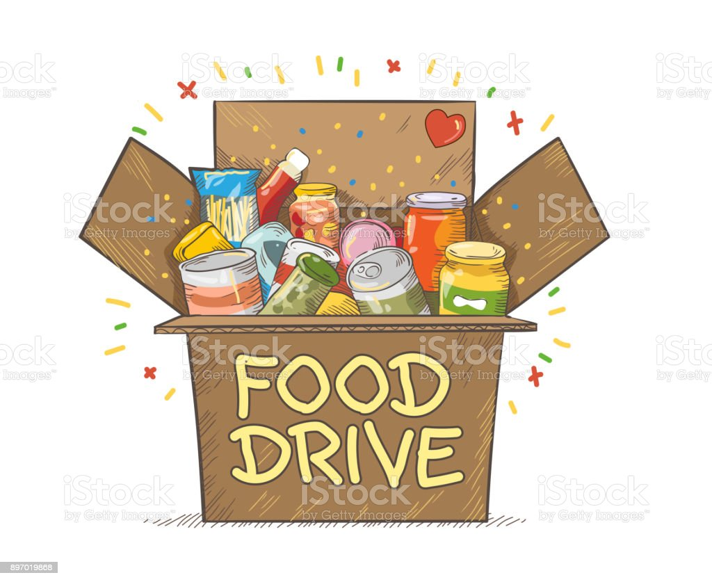 royalty free food drive clip art vector images illustrations istock rh istockphoto com food drive clip art images food drive clipart black and white
