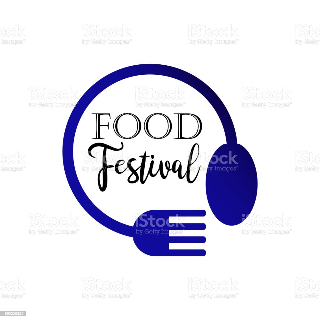 Food Festival Logo Vector Template Design royalty-free food festival logo vector template design stock vector art & more images of archival