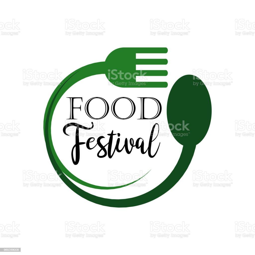 Food Festival Logo Vector Template Design food festival logo vector template design - stockowe grafiki wektorowe i więcej obrazów archiwalny royalty-free