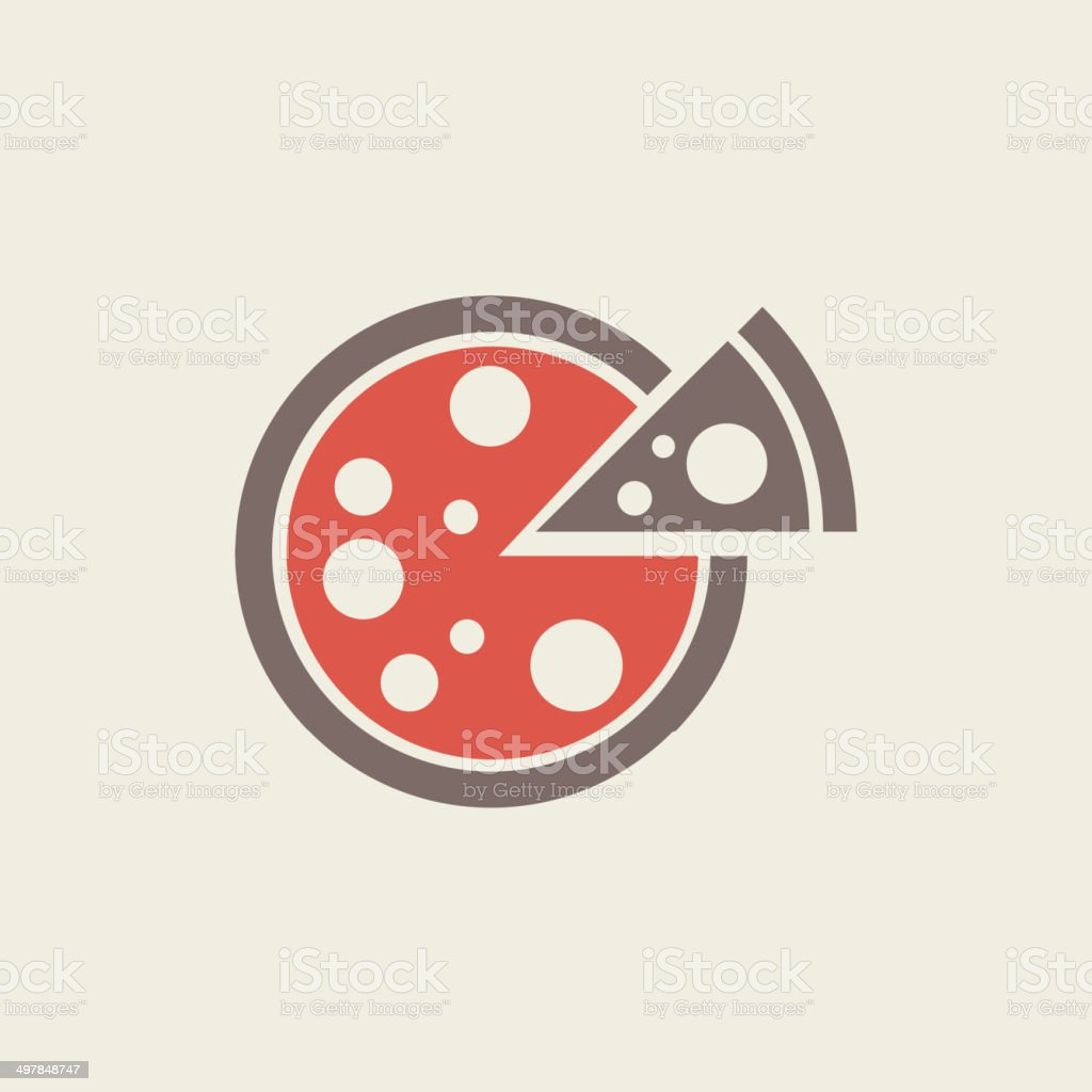 Food Flat Icon vector art illustration