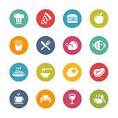 Food Icon Set 1 // Fresh Colors Series