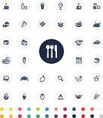 Vector File of Food Icon Set