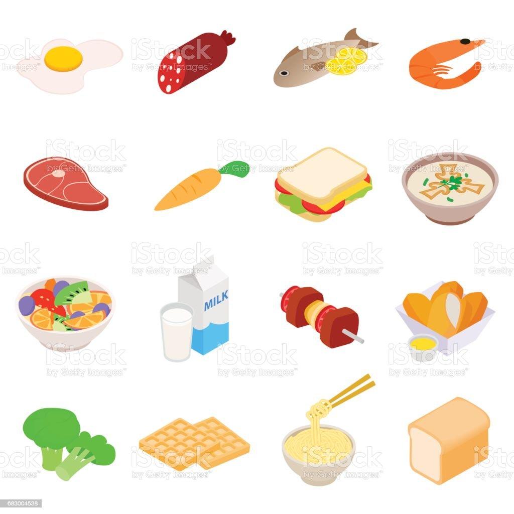 Food icons set food icons set - arte vetorial de stock e mais imagens de bebida royalty-free