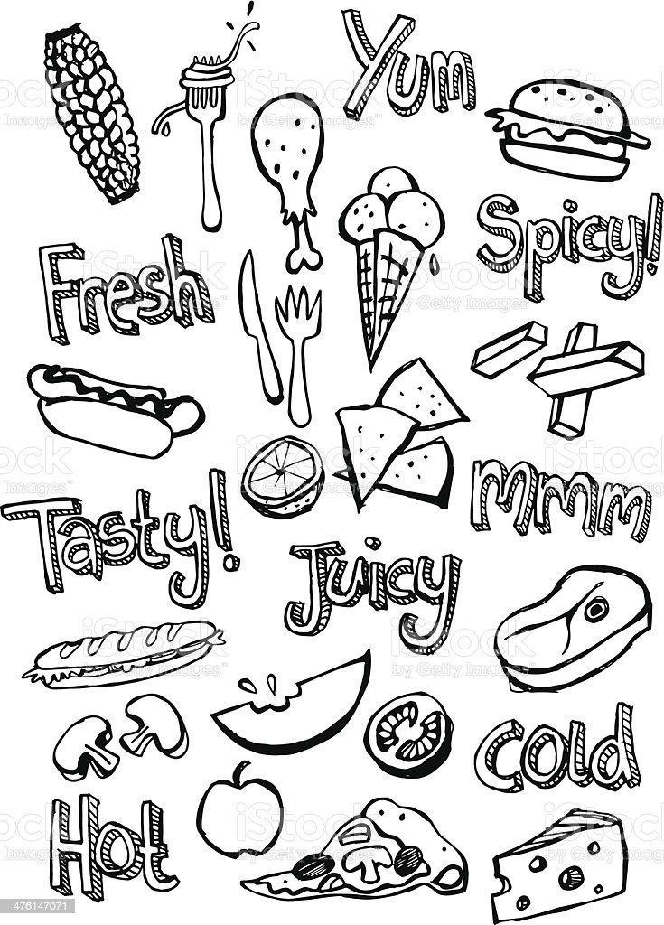 Food Icons royalty-free food icons stock vector art & more images of apple - fruit