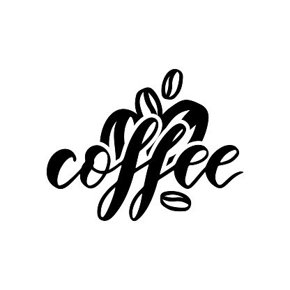 Food pantry custom label coffee. Container sticker. Vector. Logo shop
