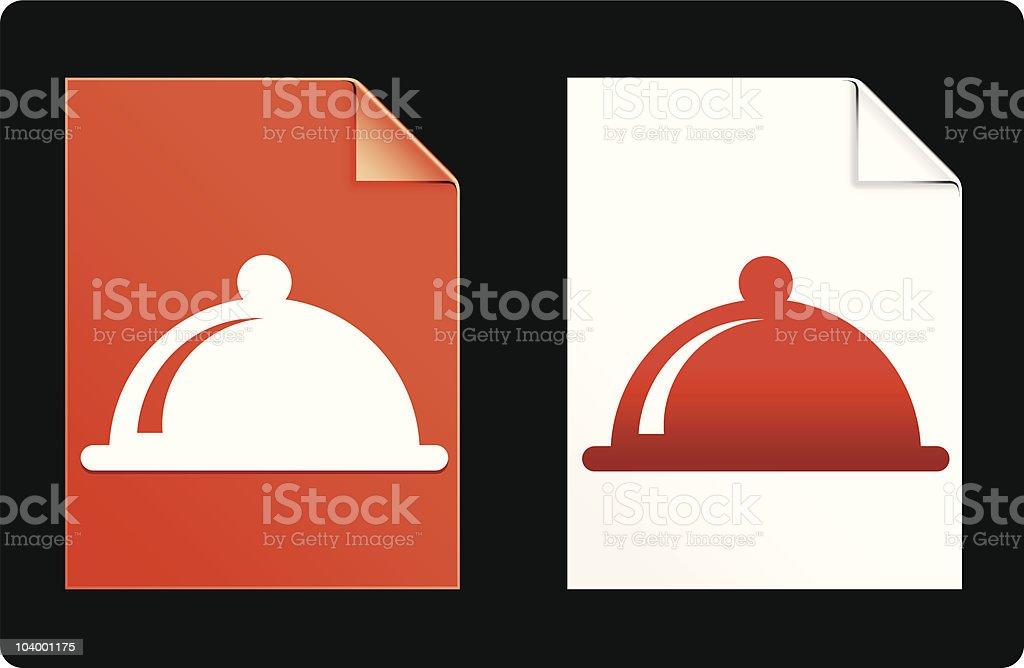 food platter design elements royalty-free stock vector art