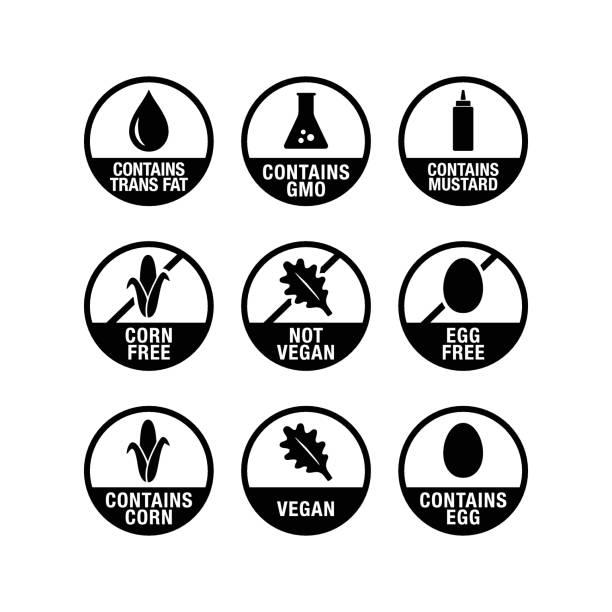 Food & Product Icon vector art illustration