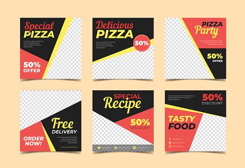 Food promotional banner Vol.4