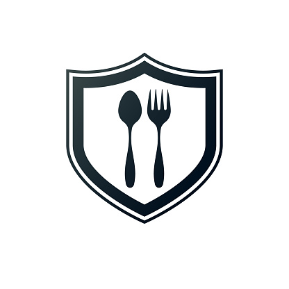 food protection. eps 10 vector file