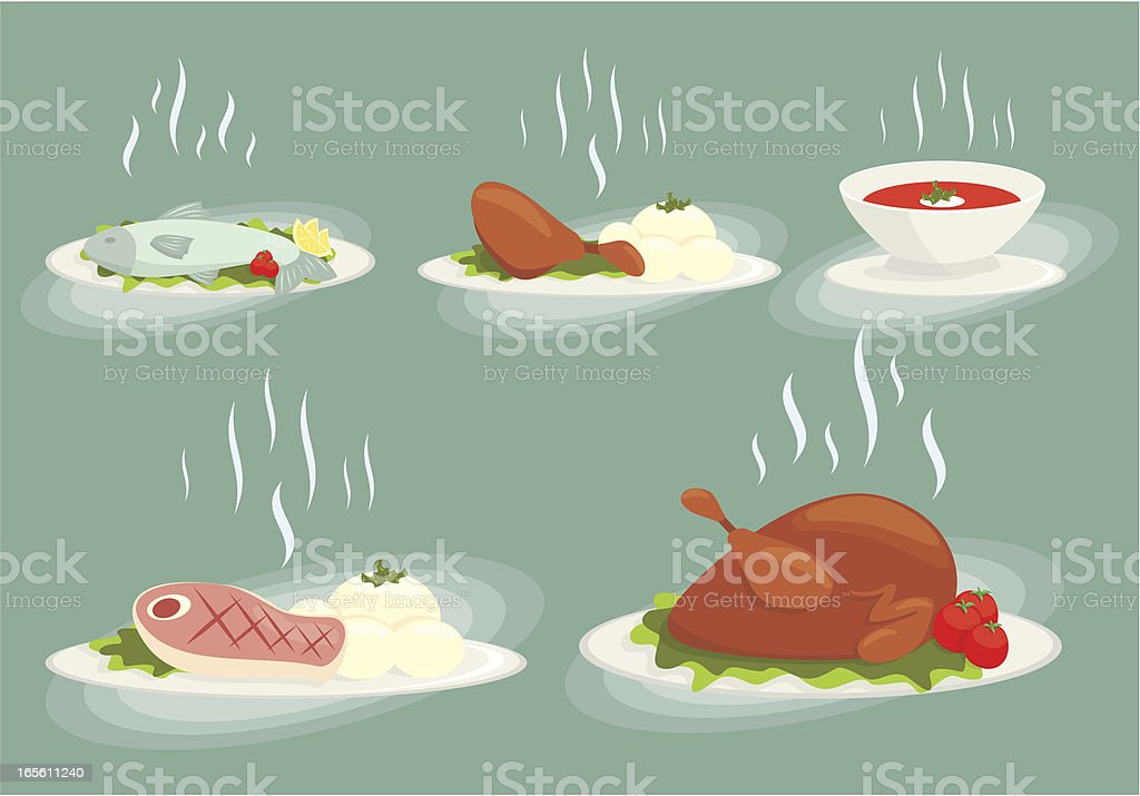 food set vol1 vector art illustration