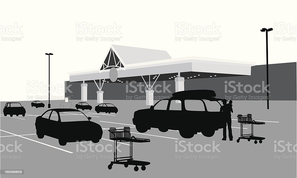 Food store Vector Silhouette royalty-free food store vector silhouette stock vector art & more images of adult