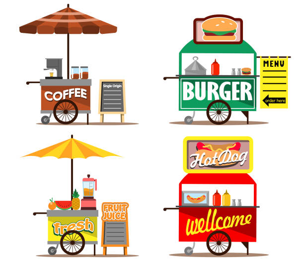 Royalty Free Mini Hot Dogs Clip Art, Vector Images ...