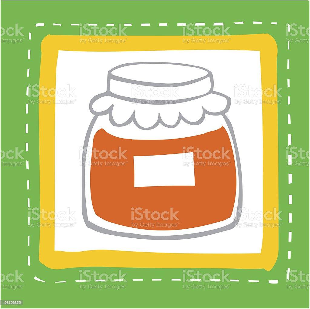 food stuff royalty-free stock vector art