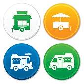 Food Truck and Food Cart Symbols
