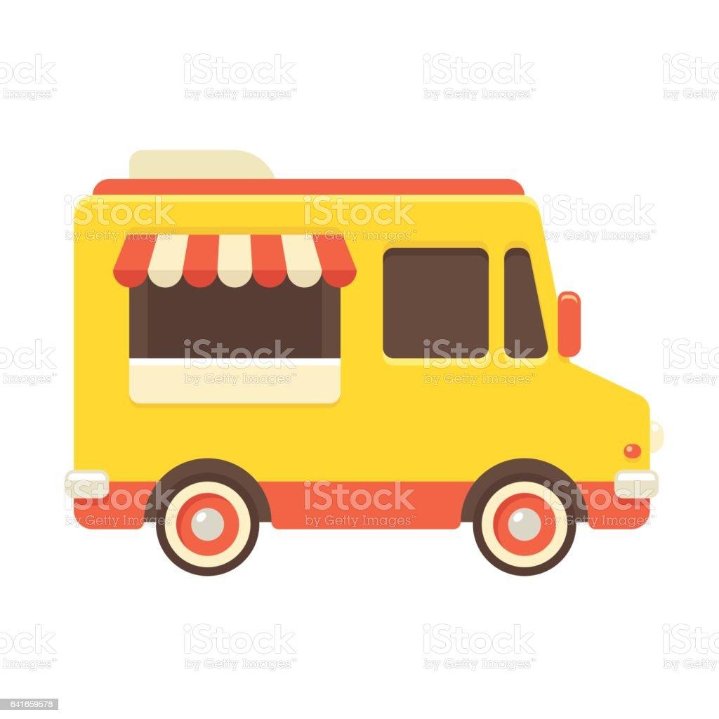 Food Truck Illustration Stock Illustration - Download ...