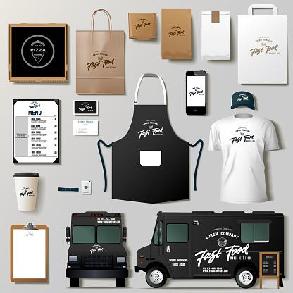Food truck mock ups